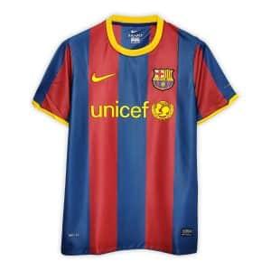 Camisa Retrô Barcelona 10/11 Home