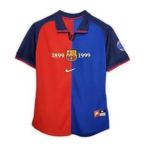 Camisa Retro Barcelona Centenário Home