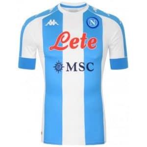 Camisa Oficial Napoli 20/21 IIII Maradona Torcedor