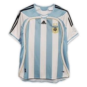 Camisa Retrô Argentina 2006 Home