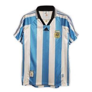 Camisa Retrô Argentina 1998 Home