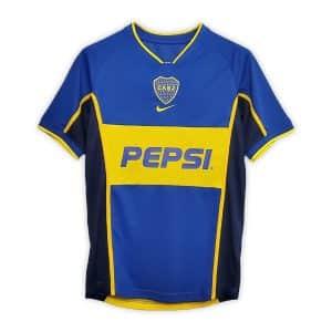Camisa Retrô Boca Juniors 2002 Home