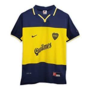 Camisa Retrô Boca Juniors 1999 Home