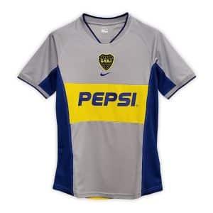 Camisa Retrô Boca Juniors 2002 Away