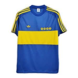 Camisa Retrô Boca Juniors 1981 Home