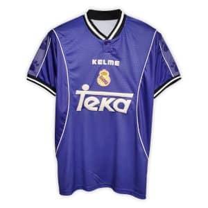 Camisa Retrô Real Madri 97/98 Away