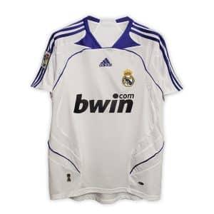 Camisa Retrô Real Madri 07/08 Home