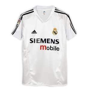 Camisa Retrô Real Madri 04/05 Home