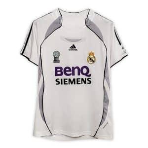 Camisa Retrô Real Madri 06/07 Home
