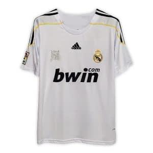 Camisa Retrô Real Madri 09/10 Home