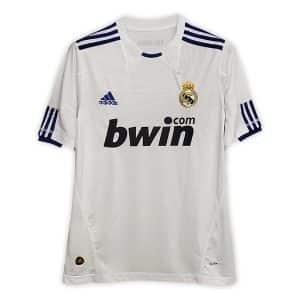 Camisa Retrô Real Madri 10/11 Home
