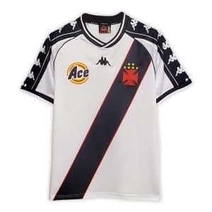 Camisa Retrô Vasco da Gama 2000 Home Away