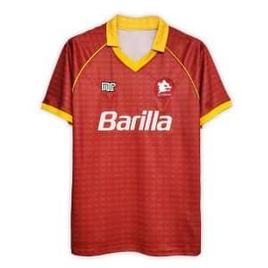 Camisa Retrô Roma 90/91 Home