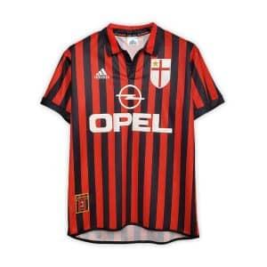 Camisa Retrô Milan 99/00 Home