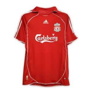 Camisa Retrô Liverpool 06/07 Home