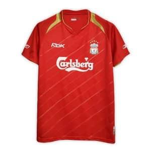 Camisa Retrô Liverpool 05/06 Home