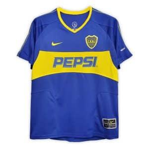 Camisa Retrô Boca Juniors 03/04 Home