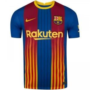 Camisa Oficial Barcelona 20/21 Senyera Torcedor