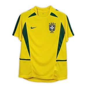 Camisa Retrô Brasil 2002 Home