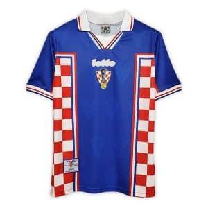 Camisa Retrô Croácia 1998 Away