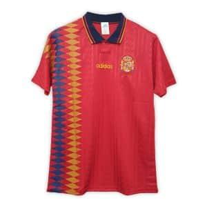 Camisa Retrô Espanha 1994 Home