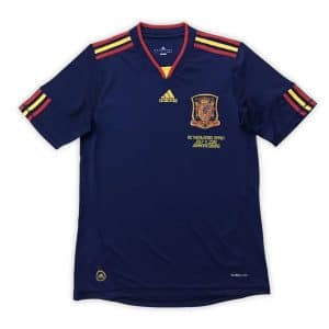 Camisa Retrô Espanha 2010 Away