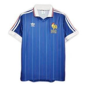 Camisa Retrô França 1982 Home