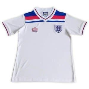 Camisa Retrô Inglaterra 1980 Home