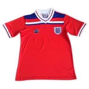 Camisa Retrô Inglaterra 1980 Away