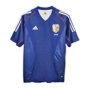 Camisa Retrô Japão 2002 Home