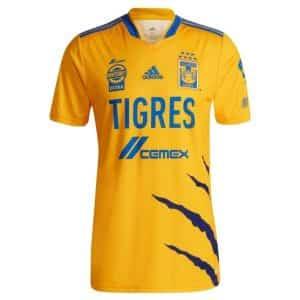 Camisa Oficial Tigres 21/22 Home Torcedor