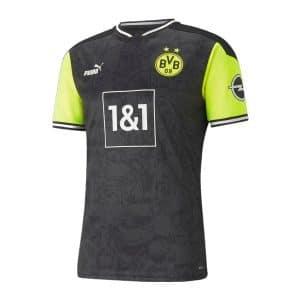 "Camisa Oficial Borussia Dortmund ""NeonGelb"" 2021 Retrô 90's"