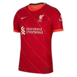 Camisa Oficial Liverpool 21/22 Home Torcedor