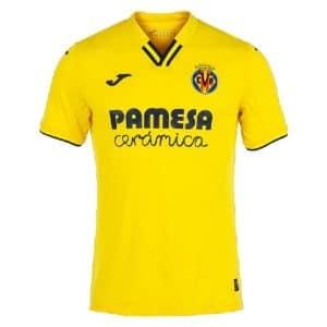 Camisa Oficial Villarreal 21/22 Home Torcedor