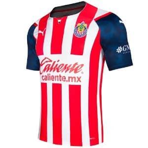 Camisa Oficial Chivas Guadalajara 21/22 Home Torcedor